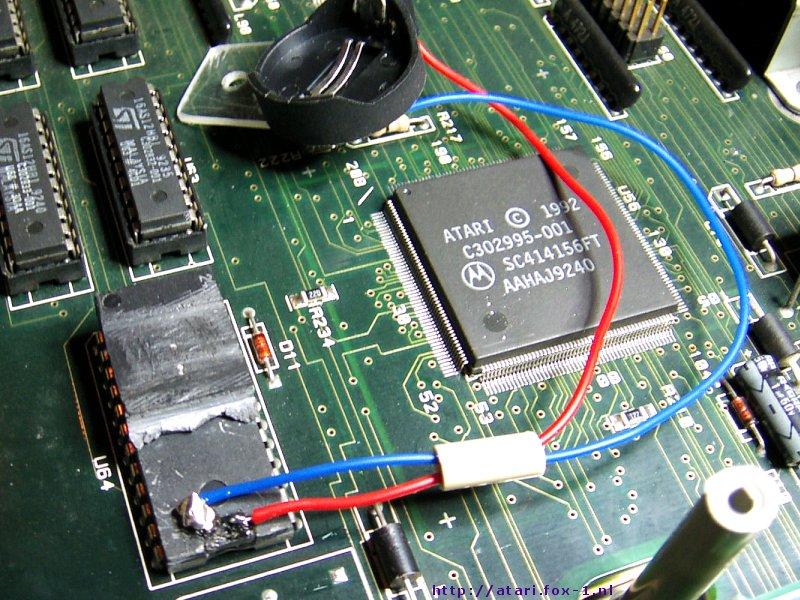 Atari Falcon - NVRAM Battery 09