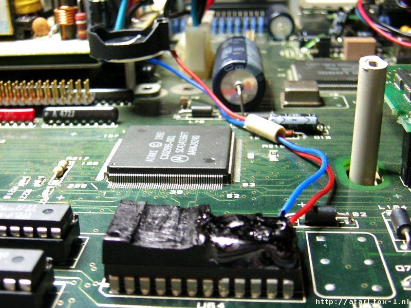Atari Falcon - NVRAM Battery 11