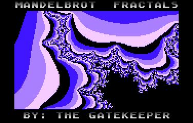 Mandelbrot Fractals - Screenshot 01