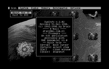 System Info 2.02 - Screenshot 01
