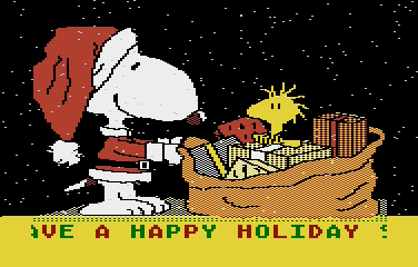 Snoopy Christmas - Screenshot 01